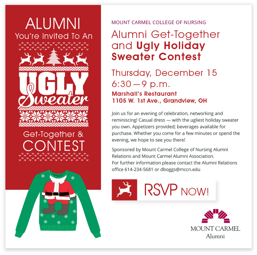 Ugly Sweater Web Blast