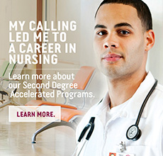 My calling led me to a career in nursing.