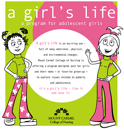 A Girl's Life Ad