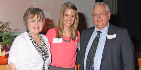 Francis and Lois Eikenbary Ryan Memorial Scholarship Awardee