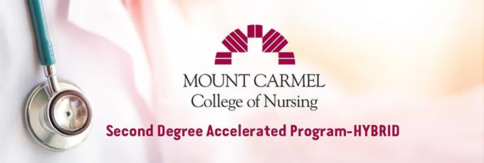 e526b3f4c6bbe INTRODUCING: The NEW Second Degree Accelerated Program-HYBRID at Mount  Carmel College of Nursing